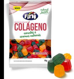 Bala de Gelatina Fini Colágeno 18g
