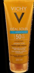 Protetor Solar Vichy Idéal Soleil Hydrasoft Fps50 200Ml