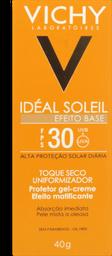 Protetor Solar Vichy Idéal Soleil Efeito Base Fps30 Com Cor 40g