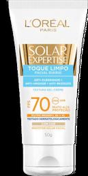 Protetor Solar Facial com Cor Toque Limpo FPS 70 50g