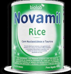 Fórmula Infantil Novamil Rice 400 g