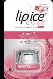 Protetor Labial Lip Ice Cube Fps 15 Morango 1 Und