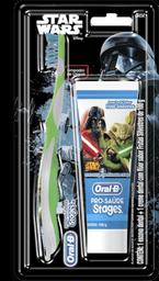 Kit Infantil Oral B Stages Star Wars 1 Und