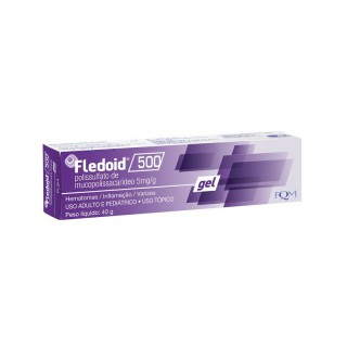 Farmoquímica Fledoid 500mg Gel 40G