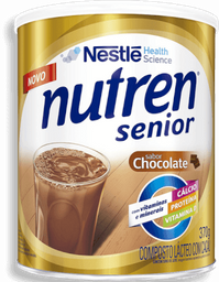Suplemento Alimentar Nutren Senior Sabor Chocolate 370 g