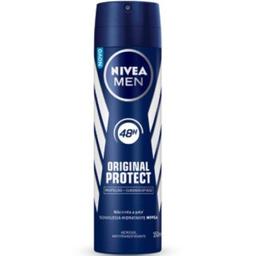 30% em 4 Unid Desodorante Nivea Original Protect Aerosol 150 g