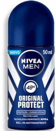Desodorante Roll On Nivea Original Protect 50mL
