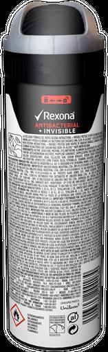 Desodorante Rexona Men Antibacterial+Invisible 150mL