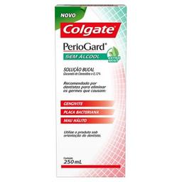 Enxaguante Bucal Colgate Periogard Extra Mint Sem Alcool 250 mL
