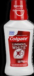 Enxaguante Bucal Colgate Luminous White XD Shine Plax 250mL