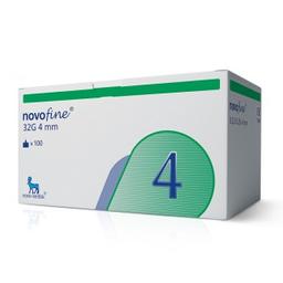 Agulha Novofine G32 4mm Com 100 Und