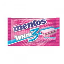 Goma de Mascar Mentos White Tutti Fresh 3
