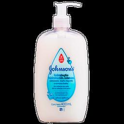 Sabonete Líquido Cremoso Johnsons Baby Hidratação Intensa 400 mL