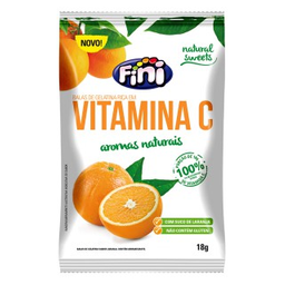 Bala de Gelatina Fini Vitamina C 18g