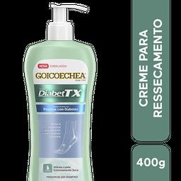Creme Hidratante Para Peles Secas Diabettx, 400G