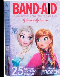 Band Aid Frozen Com 25 Curativos