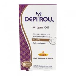 Folhas para Depilalacão Facial Depi Roll Argan Oil