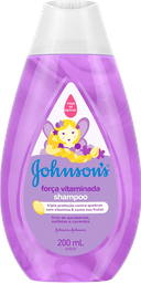 Shampoo Johnsons Baby Força Vitaminada 200 mL