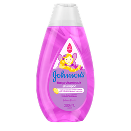 Shampoo Johnsons Baby Força Vitaminada 200 mL