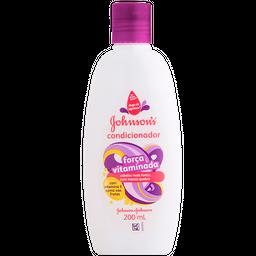 Condicionador Johnsons Baby Força Vitaminada 200 mL