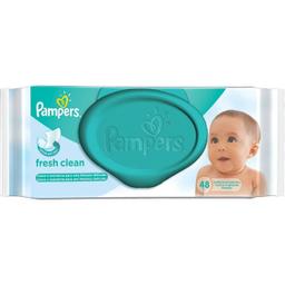 Lenços Umedecidos Pampers Infantil Com 48 Und