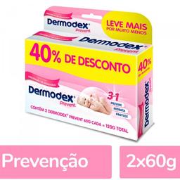 Promoção Dermodex Prevent 120g (2X60g) - 40% Off