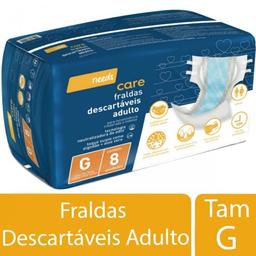 Fralda Descartável Needs Adulto Tamanho G