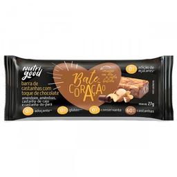 Barra de Castanhas com Toque de Chocolate