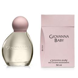 Colônia Giovanna Baby Rosa 50 mL