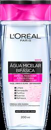 Água Micelar Bifásica de 200ml de L'Oréal Paris