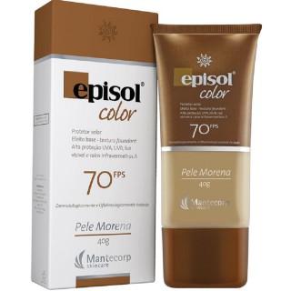 Compre 2 Ganhe 25% Episol Protetor Solar Facial Efeito Base Pele