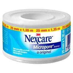 Fita Micropore Nexcare Branco 25Mmx1,35M