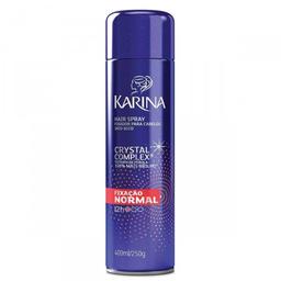 Spray Fixador para Cabelo Karina Hair Fixação Normal