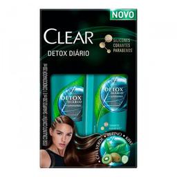 Kit Shampoo Clear Detox Diário + Condicionador