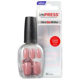Unhas Auto Cola Kiss Ny Impress Color Fresh Start Media 24 Und