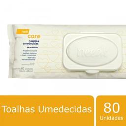 Toalha Umedecida Needs Care