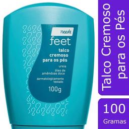 Talco Para os Pés Needs Feet Cremoso