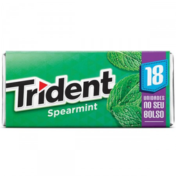 Goma de Mascar TRIDENT Spearmint 30,6g