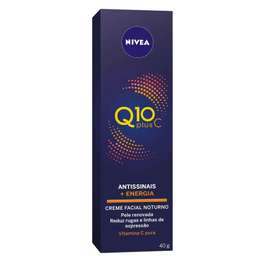 Creme Antissinais Nivea Q10 Plus C