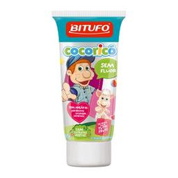 Gel Dental Bitufo Infantil Sem Fluor Tutti Fruti 90 g
