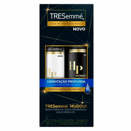 Kit Shampoo Tresemmé Hidratação Profunda + Condicionador