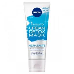 Máscara Facial Detox Urbano Nivea 1 Minuto Minimiza Poros