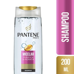 Água Micelar Pantene Shampoo 200 mL