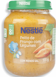 Papinha Nestlé Peito De Frango Com Legumes 170 g