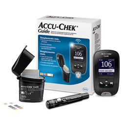 Kit Monitor de Glicemia Accu-Chek Guide Mg/Dl