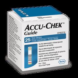 Accu-Chek Guide Test Strip Com 25 Tiras