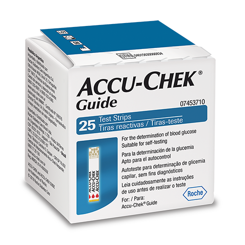 Accu-Chek Guide Test Strip Com 25 Tiras