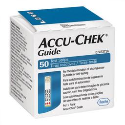 Accu-Chek Guide Test Strip Com 50 Tiras