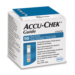 Accu-Chek Guide Test Strip Com 50 Tiras