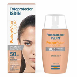 Fotoprotector Isdin Fusionwater Color 50 Spf 50 mL